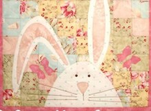Bargello Bunny Wall Quilt