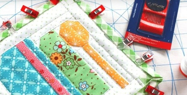 Super Easy Binding for a Quilt