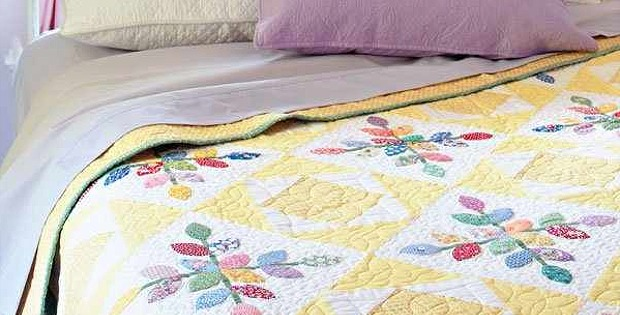 30's Colors and Prints Make This Quilt Special - Quilting Digest
