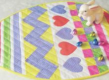 Easter Egg Table Topper Pattern