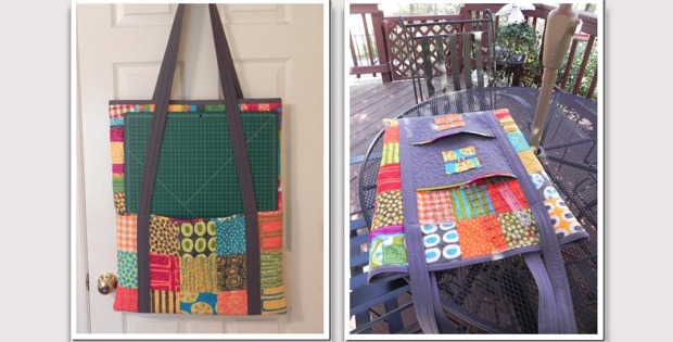 Cutting Mat And Ruler Tote Bag For Quilters Quilting Digest