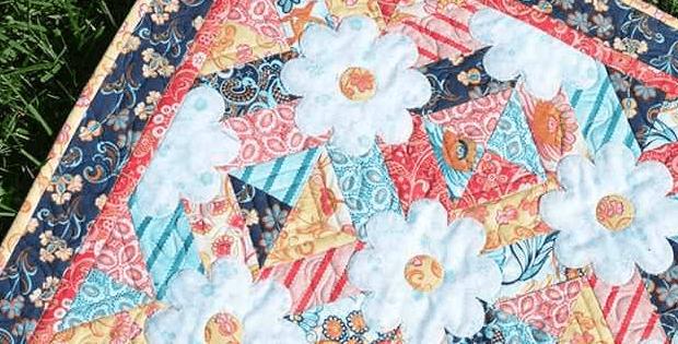 Blossoms Mini Quilt