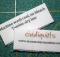 Quilt Care Label Tutorial