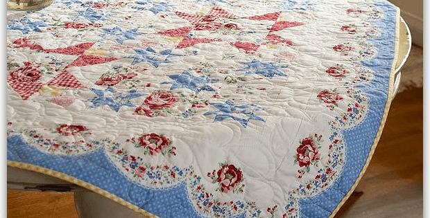 Americana Rose Quilt