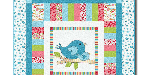 Lovebirds Quilt Pattern