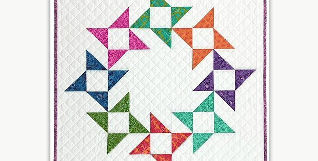 Friendship Wreath Mini Quilt