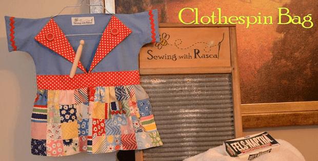 Clothespin Bag Tutorial