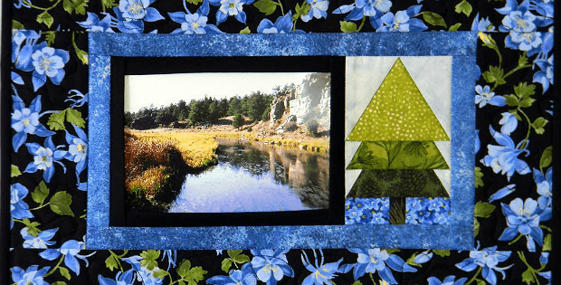 Quilted Photo Frame