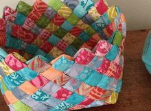 Woven Fabric Basket