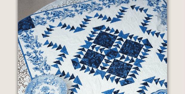 Delft Blue Wall Quilt