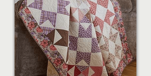 Stars for Edith Quilt