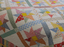 1930s Reproduction Pinwheel Quilt