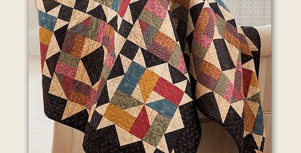 Starlit Path Quilt Pattern