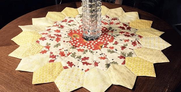Sunburst Table Topper