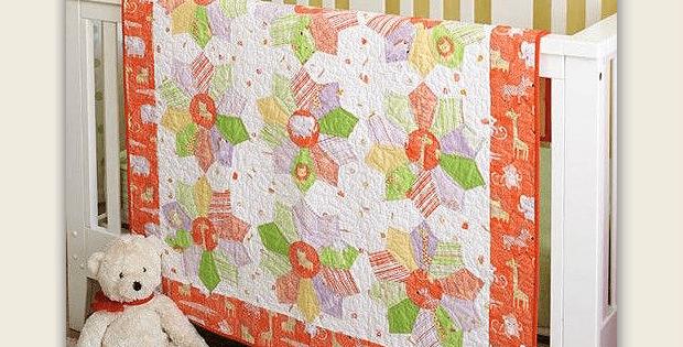 Tangerine Zoo Quilt Pattern