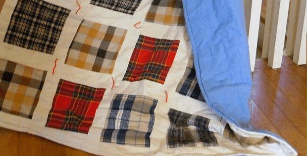 Flannel Quilt Tutorial