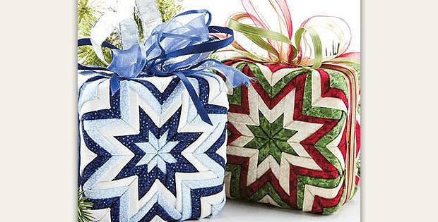Gift Box No-Sew Ornament Pattern