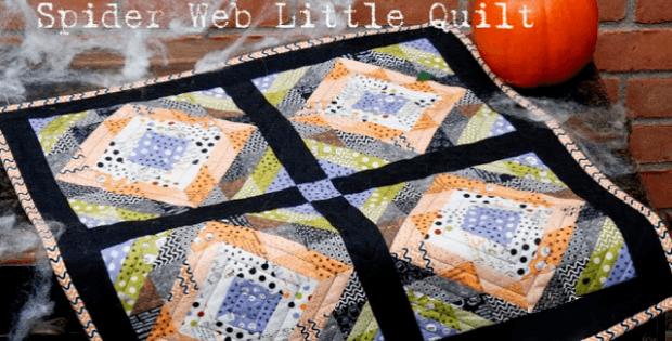 Spider Web Little Quilt