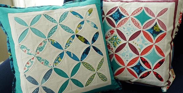 Cathedral Window Pillows