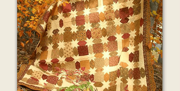 Morning Glory Star Quilt