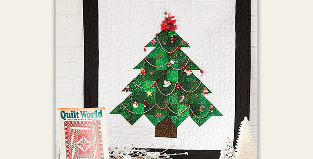 A christmas tree quilt to enjoy for years quilting digest