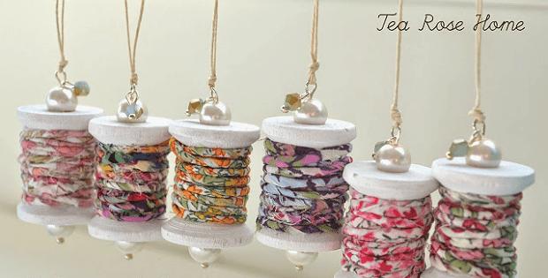 Fabric Thread Ornaments