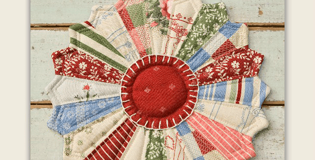 Scrappy Paper-Pieced Hotpad