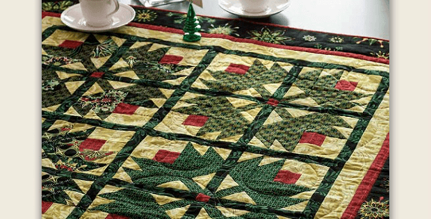 Star of Hope Table Topper