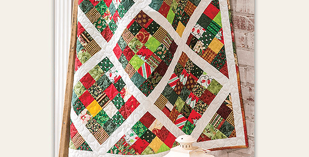 Scrappy Quilt with Sashing