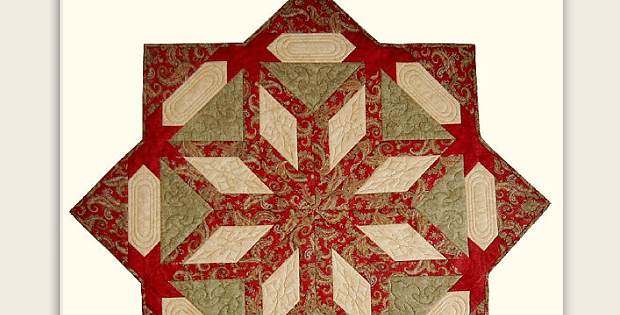 Peace on Earth Table Quilt