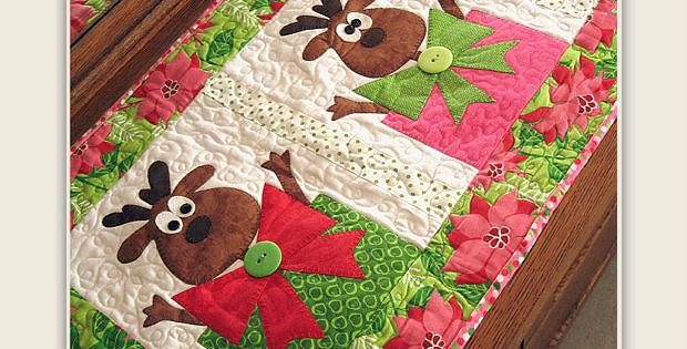Santa's Helpers Christmas Runner