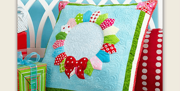 'Round the Holidays Pillow