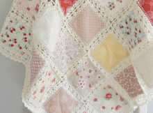 High Tea Crochet Fusion Quilt
