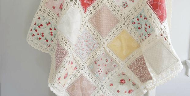High Tea Crochet Fusion Quilt