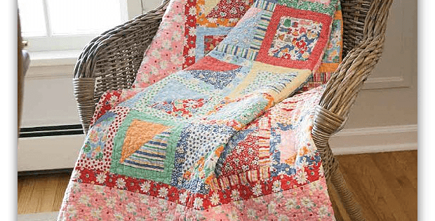 In a Snap Quilt Pattern