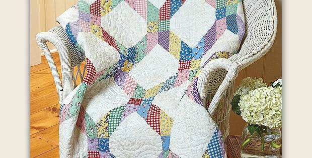 Lattice Be Scrappy Quilt Pattern