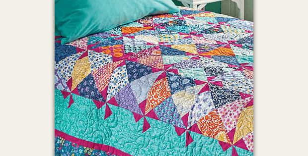 Pinwheels in Preview Quilt