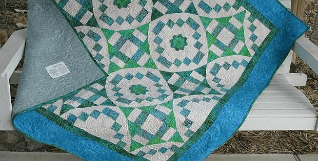 River Swirls Quilt Pattern