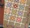 Churn Dash Checkers Quilt Pattern