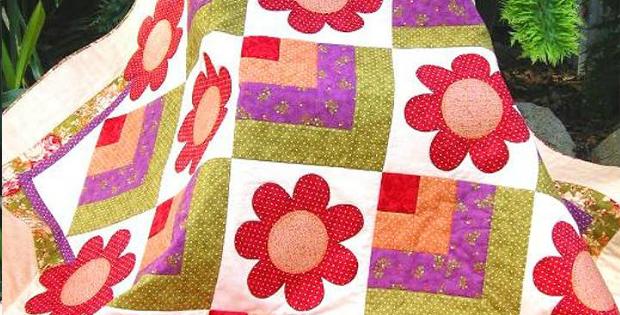 Dotti Flower Quilt