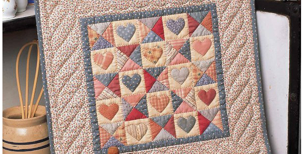 Quilted with Love Mini Quilt