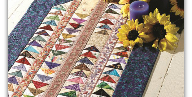 Which Way Home? Table Runner