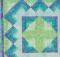 Caribbean Blue Quilt
