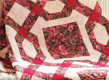 Chained Nine-Patch Quilt