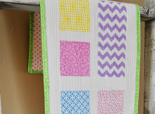 Easter Candy Table Runner