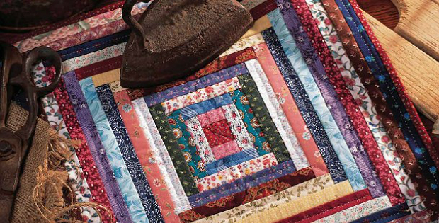 Miniature Courthouse Steps Quilt
