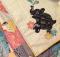Peek A Boo Pachyderm Baby Quilt