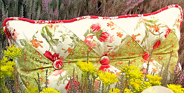 Diamond Tufted Pillow Tutorial