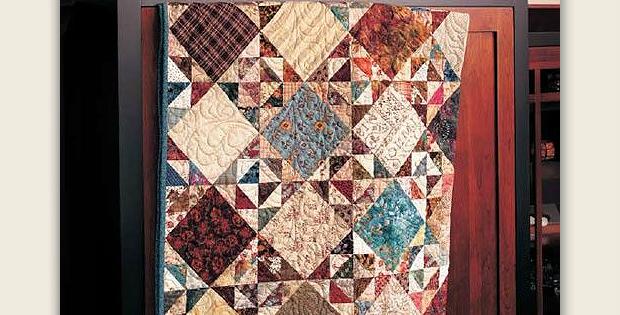 Triangle Surprise Quilt Pattern