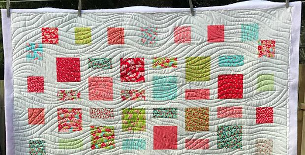 Quilt Gentle Curves With The Walking Foot Quilting Digest